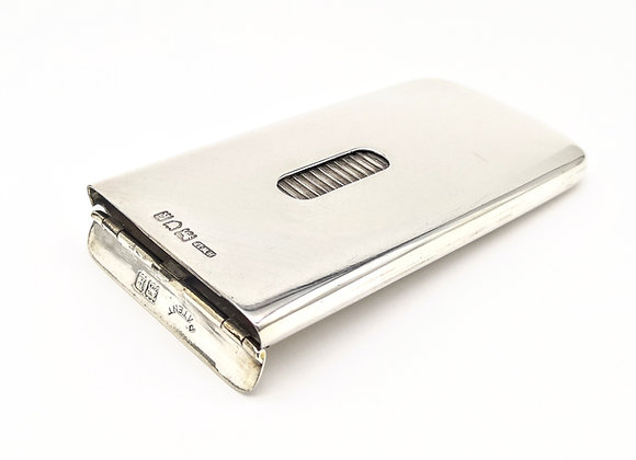 Silver Business Card Case 1905