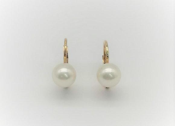 Edwardian 18ct Pearl Earrings