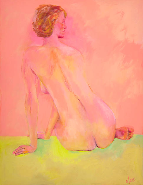 Study in Pink 34x44