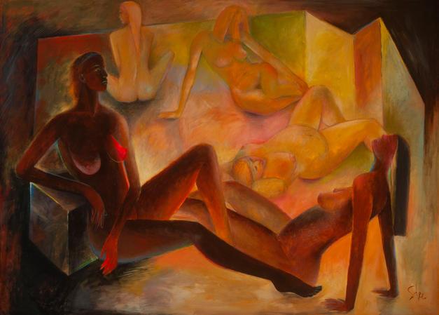 Five Figures 62x85