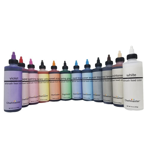 Chefmaster Airbrush Spray Food Color, 9-Ounce