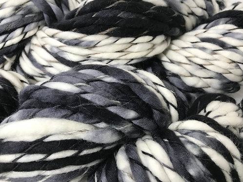 SOLD OUT - Dalmatian Hoof-To-Hanger -  Bulky Weight Yarn
