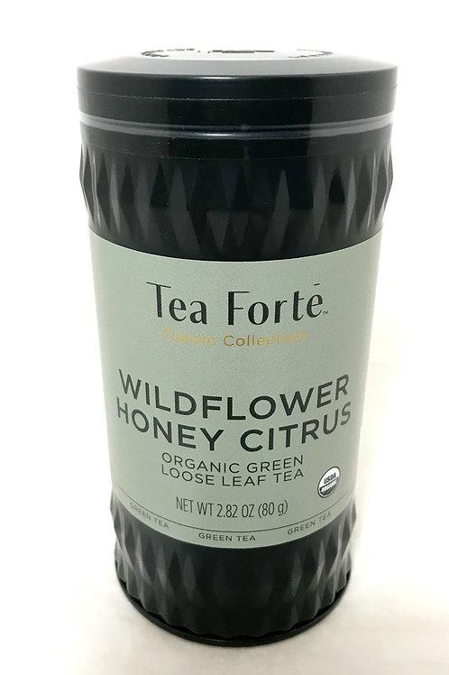 Tea Forte Wildflower Honey Citrus Tin