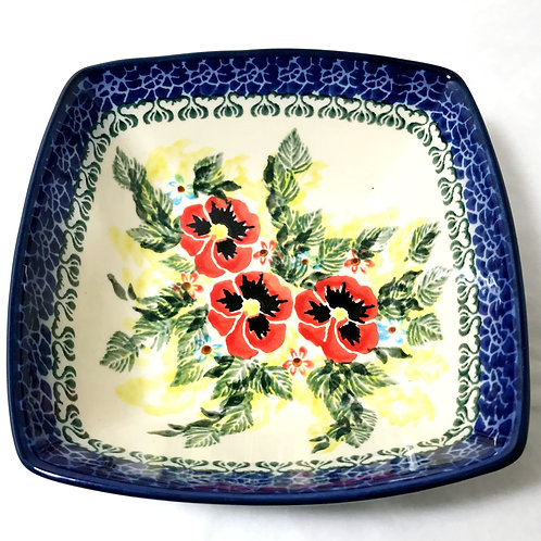 Serving or Ice Cream Bowl - Polish Pottery