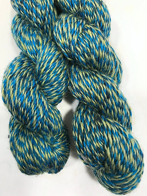House Blend Turquoise Fingering Weight Yarn - Hoof-To-Hanger
