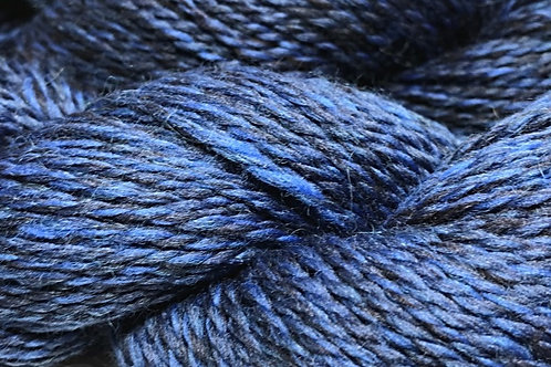 Midnight Blues Sport Weight Yarn - Hoof-To-Hanger