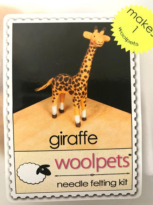 Giraffe Needle Felting Kit - Woolpets