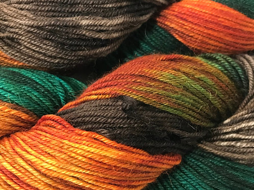 Fall in the Woodlands XL Sport Weight Yarn - Hoof-To-Hanger