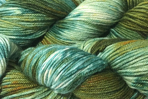 Green With Envy XL Sport Weight Yarn - Hoof-To-Hanger