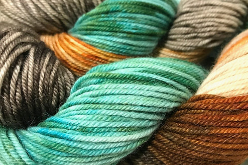SOLD OUT Spring in the Woodlands Sport Weight Yarn - Hoof-To-Hanger