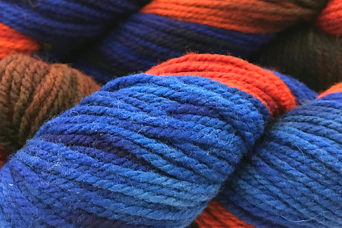 Fall Sky Worsted Weight Yarn - Hoof-To-Hanger