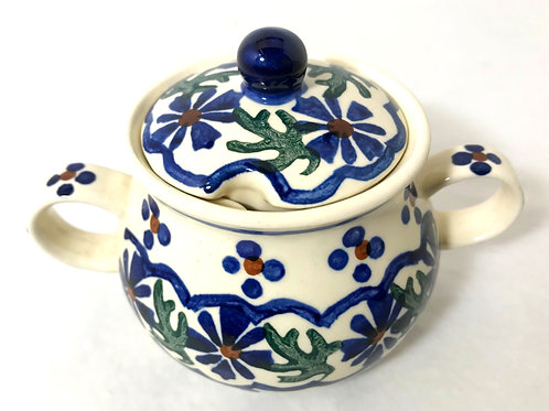 Sugar Bowl - Polish Pottery