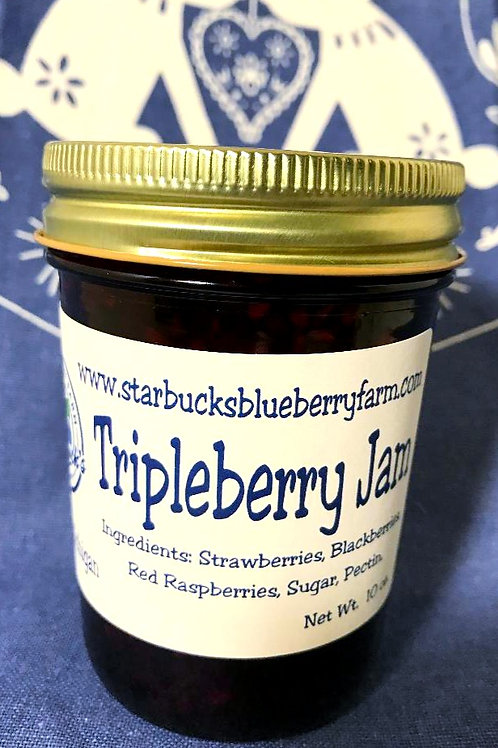 Starbuck's Blueberry Farm Local Tripleberry Jam