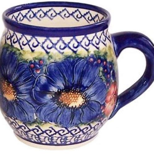 Coffee or Tea Bubble Mug - Polish Pottery
