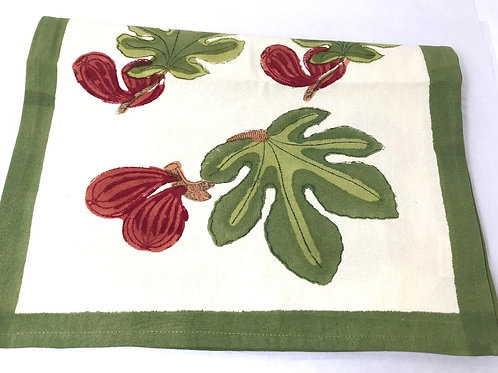 Couleur Nature Fig Table Runner