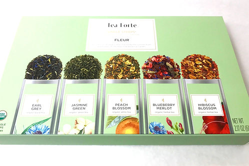 Tea Forte Single Steeps Fleur Sampler Box