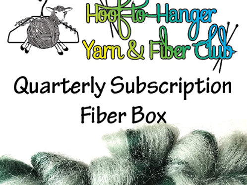Hoof-to-Hanger Fiber Mill Quarterly Subscription Fiber Box