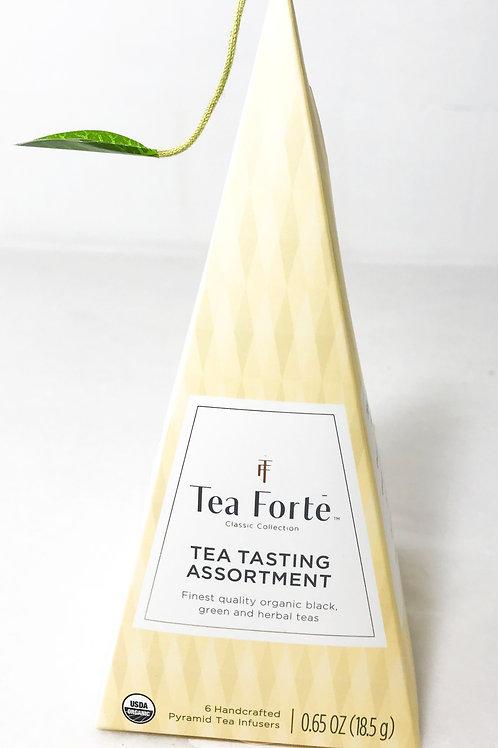 Tea Forte Tea Tasting Assortment Pyramid