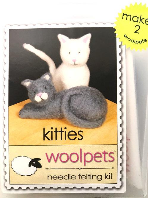 Kitties Needle Felting Kit - Woolpets