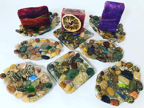 Rock Creations Soap Dishes
