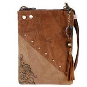Brisk Soho - Upcycled Leather Bag - Vaan & Co.