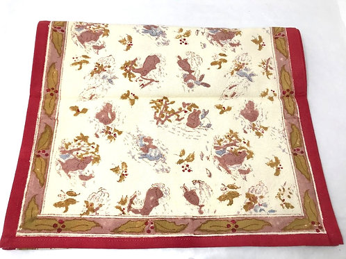 Couleur Nature Lapins d'Hiver Table Runner