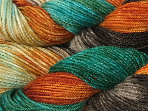 Spring in the Woodlands Sport Weight Yarn - Hoof-To-Hanger