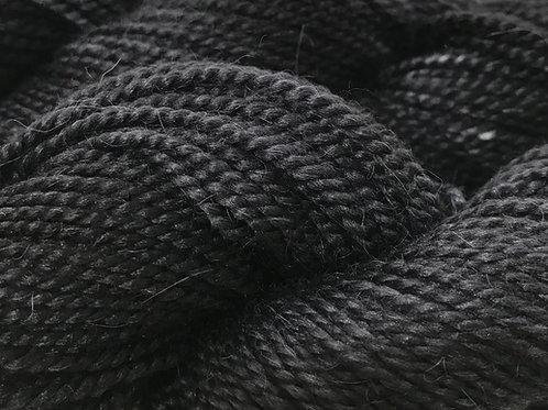 Variegated Black XL Sport Weight Yarn - Hoof-To-Hanger