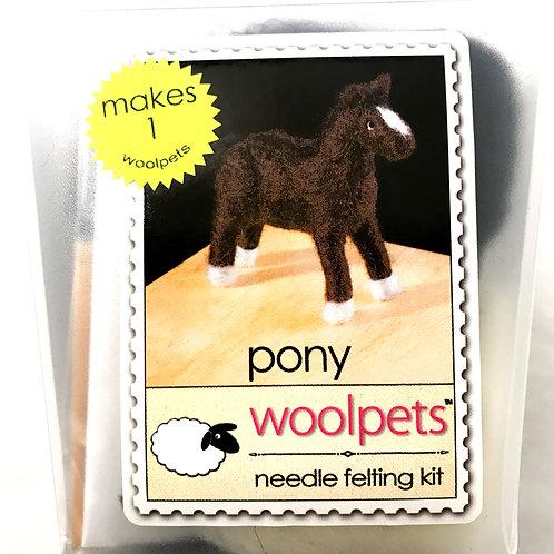 Pony Needle Felting Kit - Woolpets