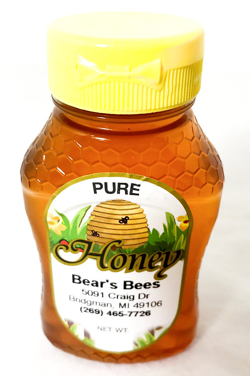 Bear's Bees Pure Local Honey - One Half Pound