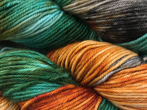 Spring in the Woodlands XL Sport Weight Yarn - Hoof-To-Hanger