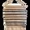 Thumbnail: SOLD -Melanie Nieske Custom Hand Woven Wall Tapestry - Hoof-to-Hanger Fiber Mill