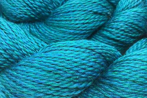 Time Will Teal Sport Weight Yarn - Hoof-To-Hanger