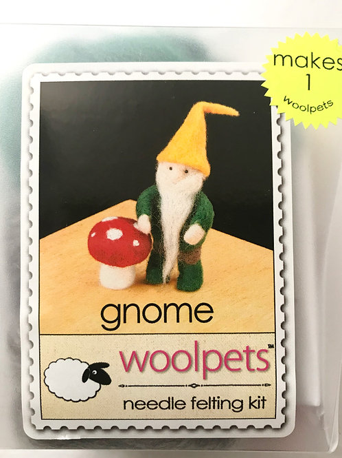 Gnome Needle Felting Kit - Woolpets