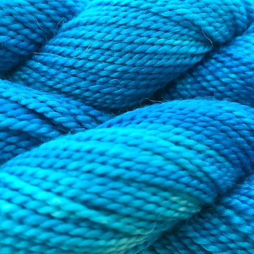 Aqua Aura Sport Weight Yarn - Hoof-To-Hanger