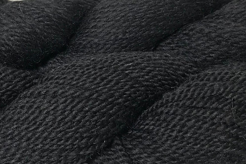 Jet Black DK Weight Yarn - Hoof-To-Hanger
