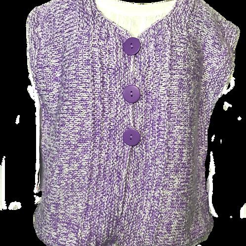 Pat Kidd Artisan Hand Knitted Vest