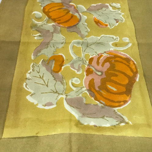 Couleur Nature Harvest Pumpkin Table Runner