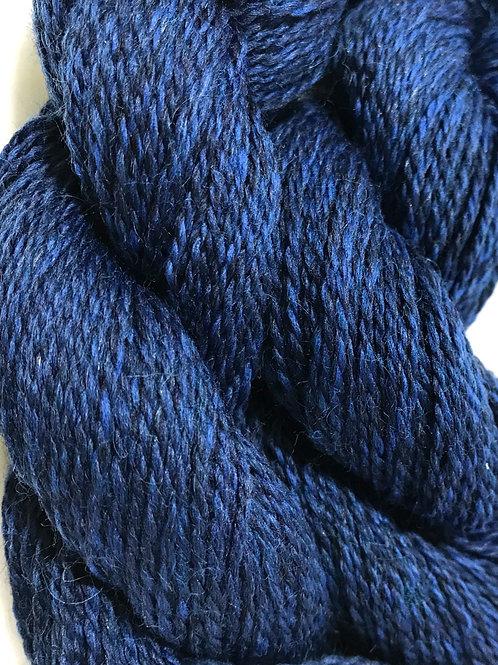 Midnight Blues Sock Weight (w/Nylon)Yarn - Hoof-To-Hanger