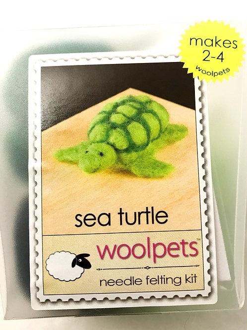 Sea Turtle Needle Felting Kit - Woolpets