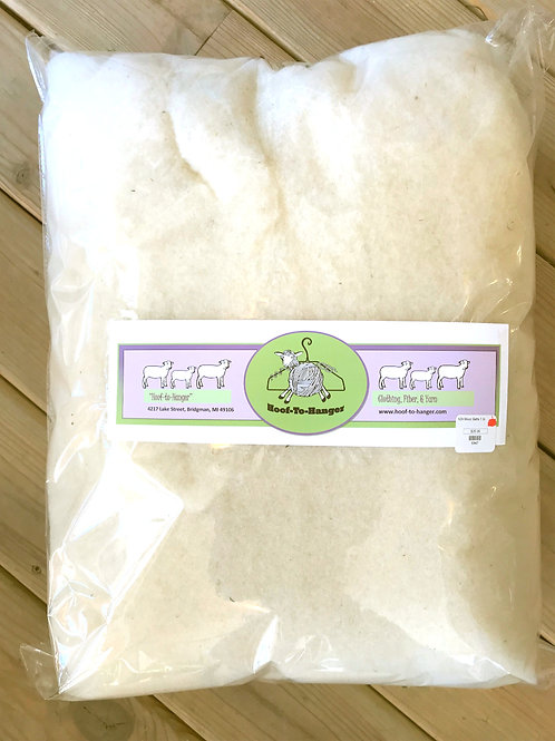 SOLD OUT - 1 lb.Batting - Hoof-To-Hanger