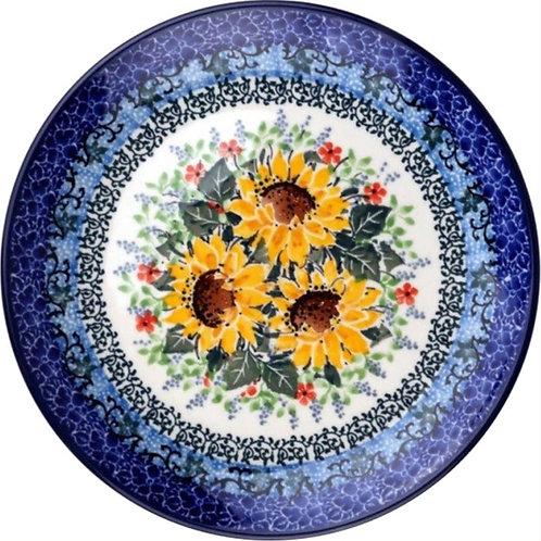 Dessert or Salad Plate - Polish Pottery