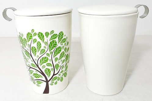 Tea Forte Green Leaves Kati Steeping Cup & Infuser