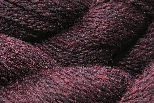 Black Cherry Worsted Weight Yarn - Hoof-To-Hanger