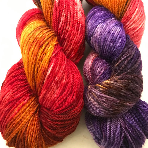 Allure Fingering Weight BFL Superwash Yarn - Hoof-To-Hanger