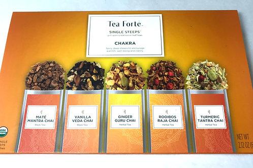 Tea Forte Single Steeps Chakra Sampler Box