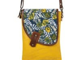 Noho Tropic - Upcycled Leather Bag - Vaan & Co.