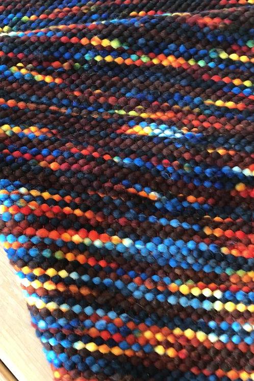 Melanie Nieske Custom Hand Woven Runner - Hoof-to-Hanger Fiber Mill