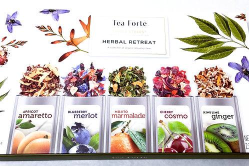 Tea Forte Single Steeps Herbal Retreat Sampler Box