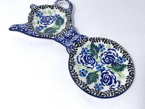 Tea Bag and Cup Holder - Polish Pottery